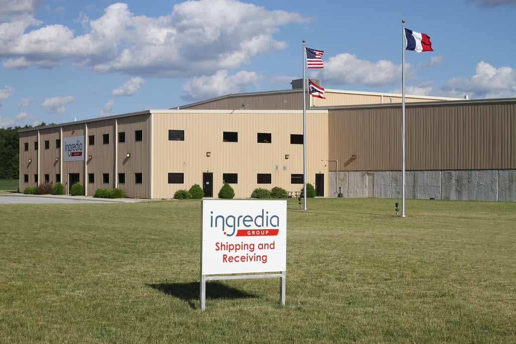 Ingredia Group's Shipping, Mixing, and Receiving facility